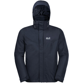 Jack Wolfskin Arland 3-in-1 Jas Heren, night blue